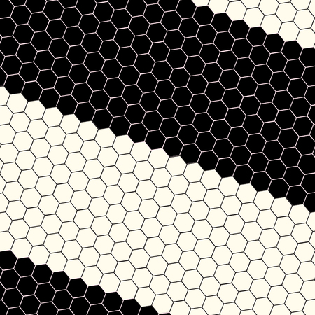 hexa: Abstract science hexagon background. Vector illustration for your artwork.