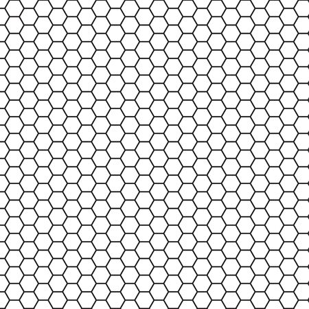 Abstract science hexagon background. Vector illustration for your artwork.