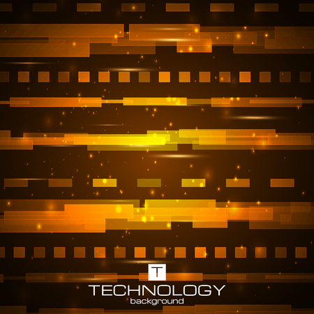 Futuristic digital background. Technology illustration for your business,science,technology artwork. Vector design element. Future road concept. Illustration