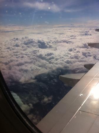 Air over western MA