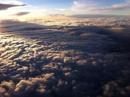 san fernando valley: Air over california san fernando valley Stock Photo
