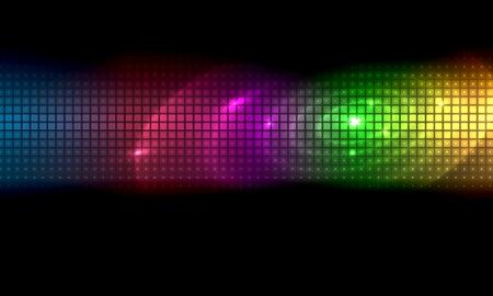 Vector Abstracte Achtergrond Color Strip Vector Illustratie