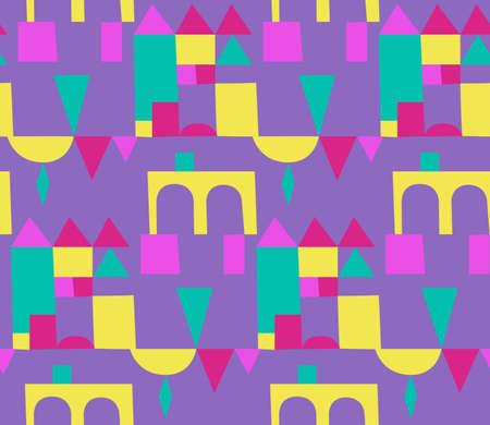 Seamless summer pattern.