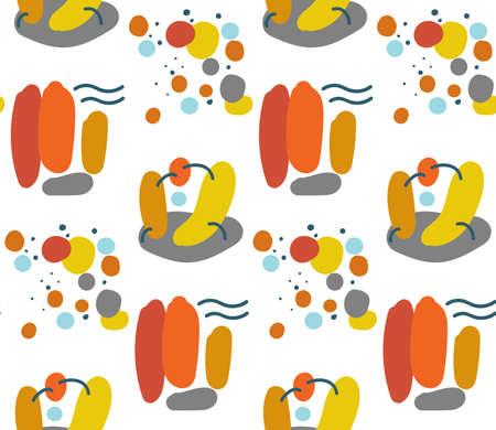 Seamless bright summer pattern.