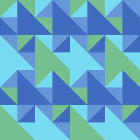 Seamless pattern in summer colors.