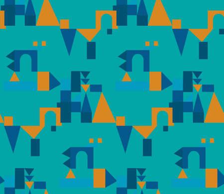 Bright colors of seamless pattern. 矢量图像