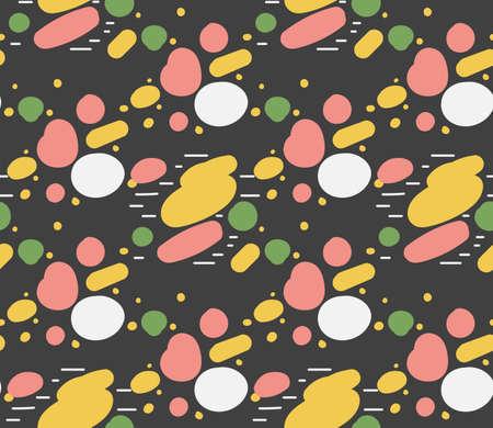 Bright colors of seamless pattern. Illusztráció