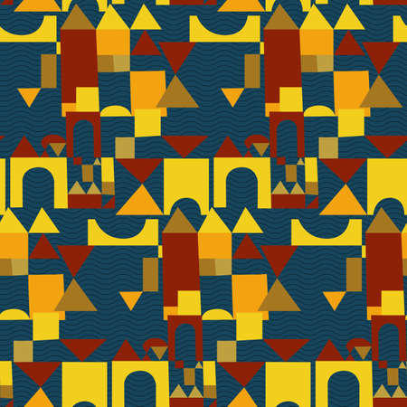 Bright colors of seamless pattern.