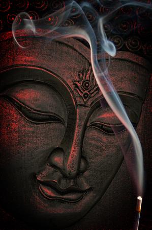 Buddha Face 写真素材