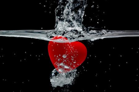 risky love: Cuore di acqua