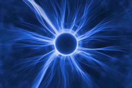 Cellule avec des rayons cosmiques énergétiques