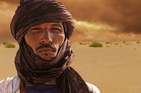 Timbuktu, Mali, September - 2-2011 Tuareg camp near Timbuktu