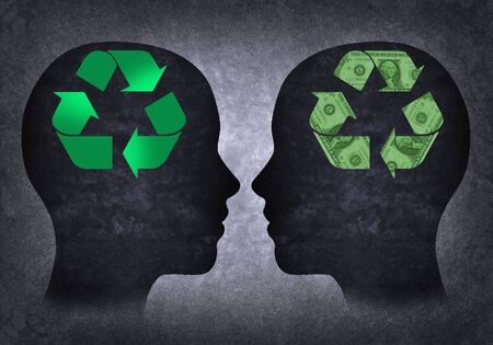 consumerist: Recycling and consumerist head head