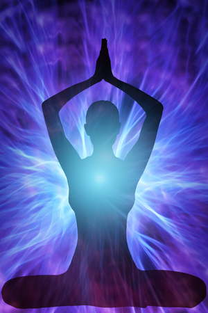 metaphysical: yoga woman
