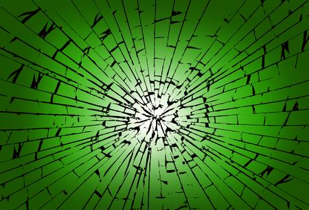 Glass Impact Imagens