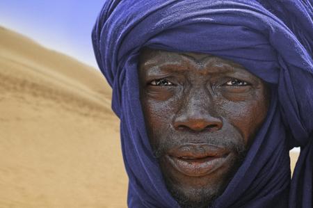 Timbuktu, Mali, september - 2 - 2011Tuareg camped in a camp near the city of Timbuktu in Mali, Africa