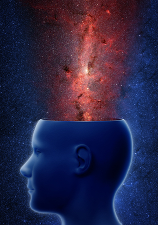 Head with universe