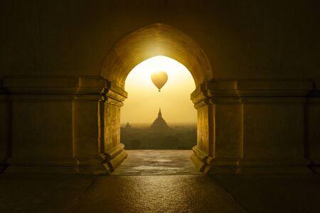Buddhist temple in Bagan