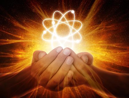 Handen in het universum