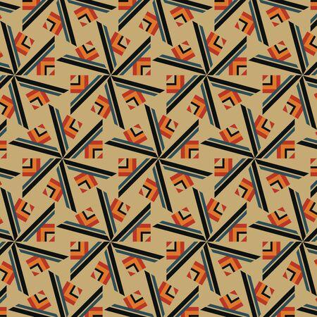 A vector illustration of a kaleidoscopic pattern. 向量圖像