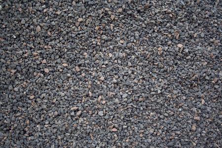 Gravel texture close up
