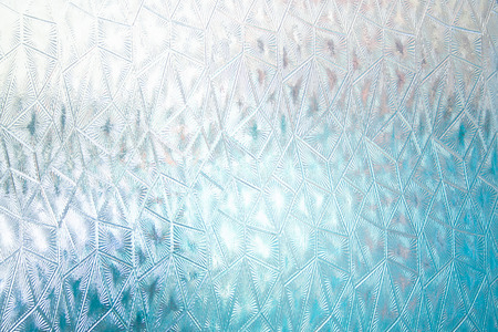 Abstract glass texture. Strange forms of glass background