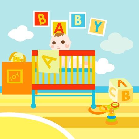 ABC bébé chambre