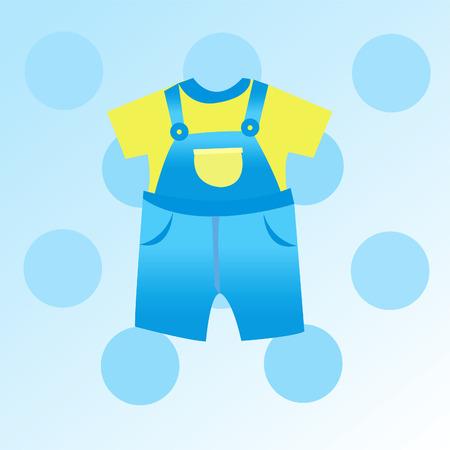 suspender: baby boy card