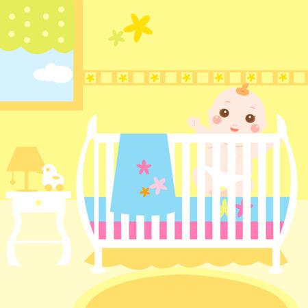 bébé à manger colorée