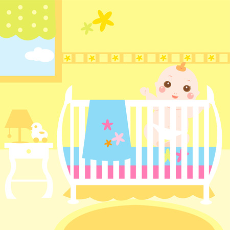 baby colorful room Vector