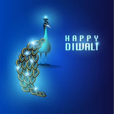 deepawali: Happy Diwali Vector Design
