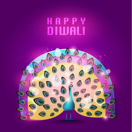 Happy Diwali Vector Design