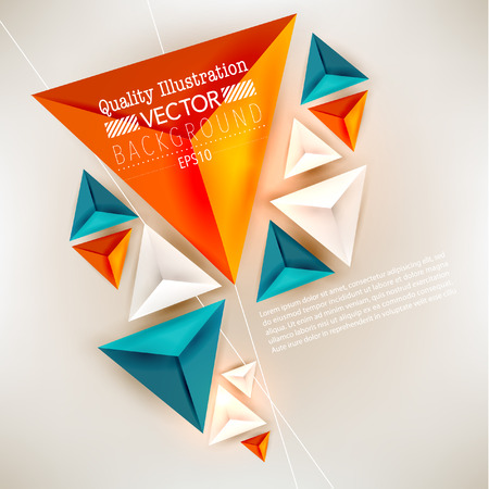 モダンな抽象ベクトル背景デザイン 写真素材 - 26072388