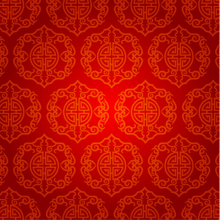 year greetings: Oriental Chinese New Year Element Vector Design
