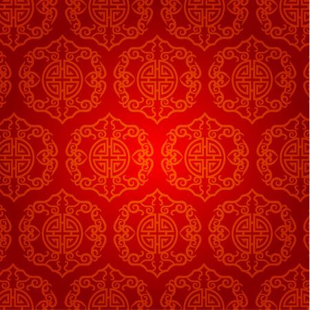 nouvel an: Oriental Nouvel An chinois Element Vector Design Illustration
