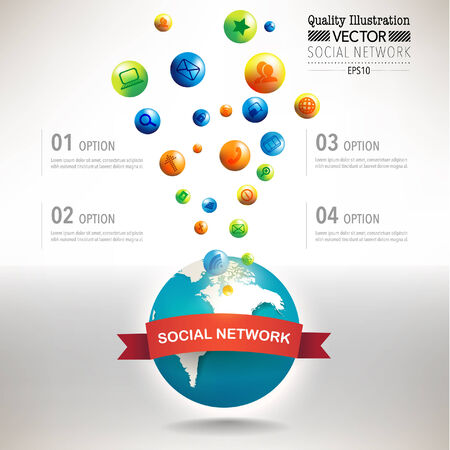 Creative Social Network Computing  Vector