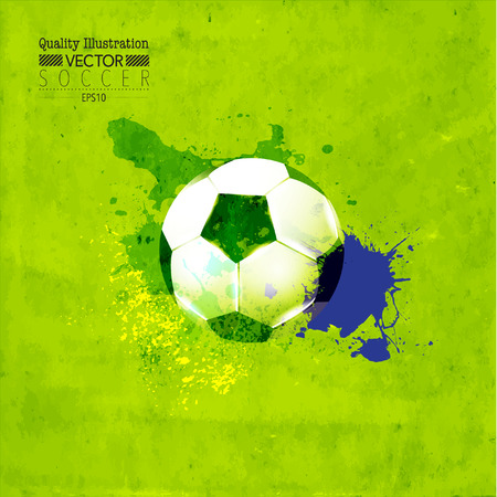 soccer: Creative Soccer Football Vector Graphic Design Illustration