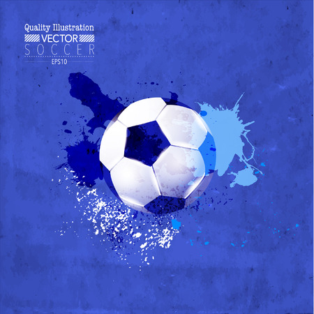Creative Soccer Football Vector Graphic Design Illustration