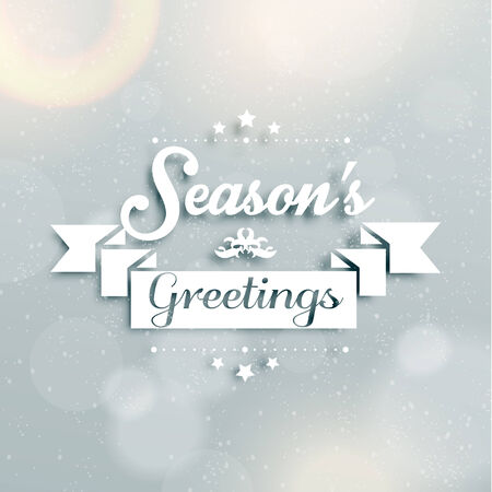 season       greetings: Merry Christmas Season Greetings Quote Vector Design