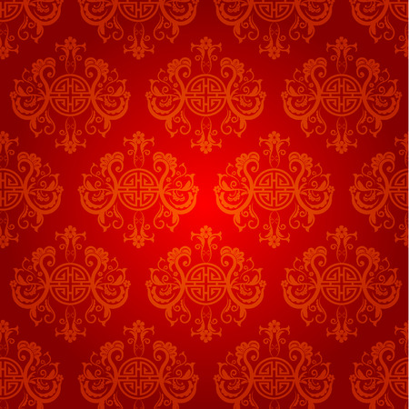 abstract chinese new year background vector design stock vector 34945376