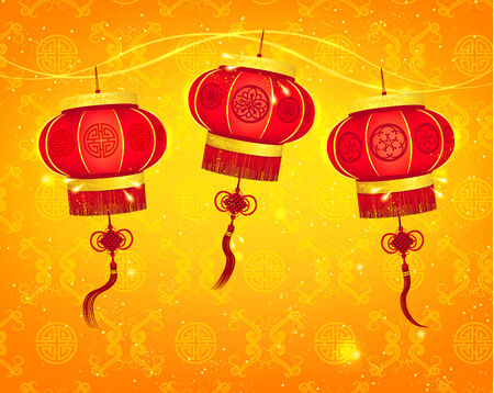chinese new year vector: Happy Chinese New Year Vector Design Elements