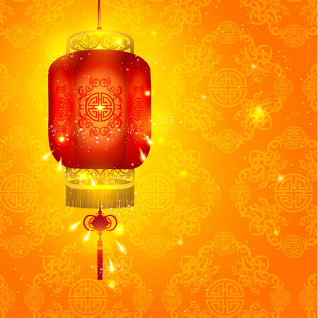 chinese lantern: Happy Chinese New Year Vector Design Elements