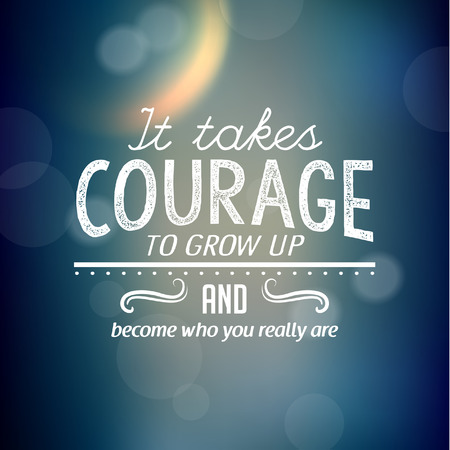 encouraging: Inspirational and encouraging quote typography vector design Illustration