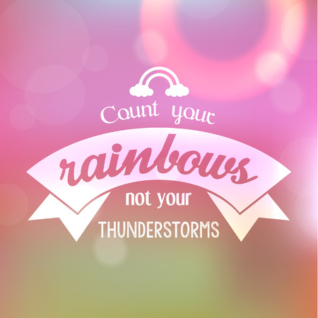 Inspirational and encouraging quote typography vector design Illustration