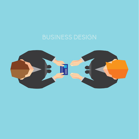 nametag: Creative Business and Office Conceptual Vector Design
