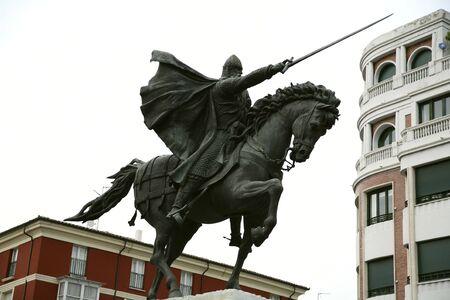 cid: knight statue of spanish cid campeador