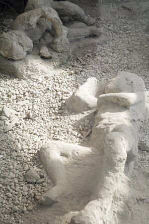 couple of people dead in pompeii