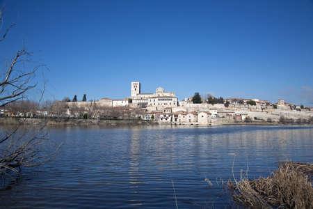 zamora: view of zamora city in spain Stock Photo