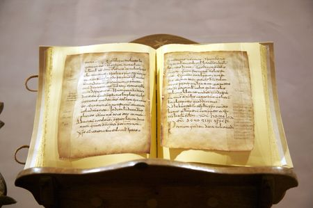 codex: public monastery of yuso in la rioja spain