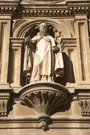 santo: sculpture in santo domingo de la calzada la rioja spain